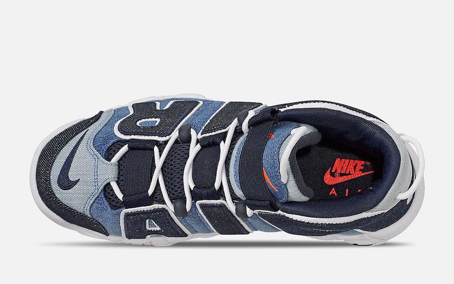 Nike Air More Uptempo Denim CJ6125-100 Release Date Info