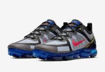 Nike Air VaporMax 2019 Bright Crimson Hyper Blue AR6631-008 Release Date Info