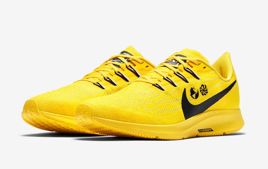 Nike Air Zoom Pegasus 36 Cody Hudson Yellow CI1723-700 Release Date Info
