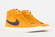 Nike Blazer Mid Vintage Amber Rise Grand Purple CJ9693-800 Release Date Info