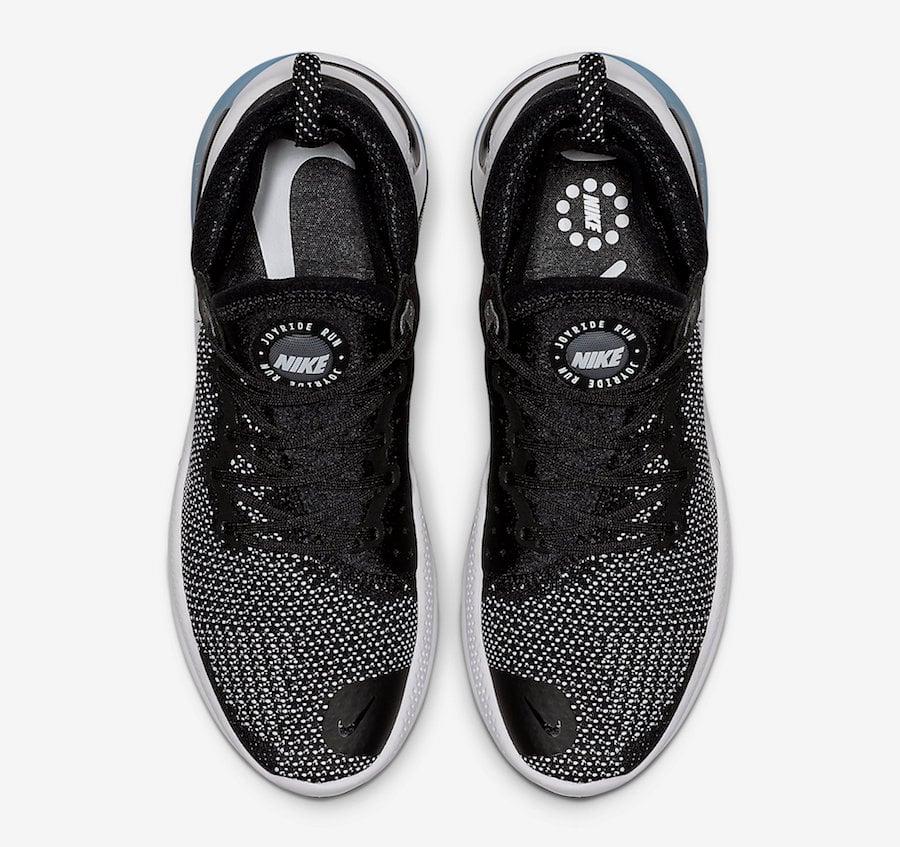 Nike Joyride Run Flyknit Black White AQ2730-001 Release Date Info
