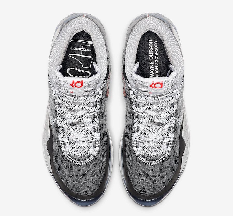 Nike KD 12 Black Cement AR4230-002 Release Date Info