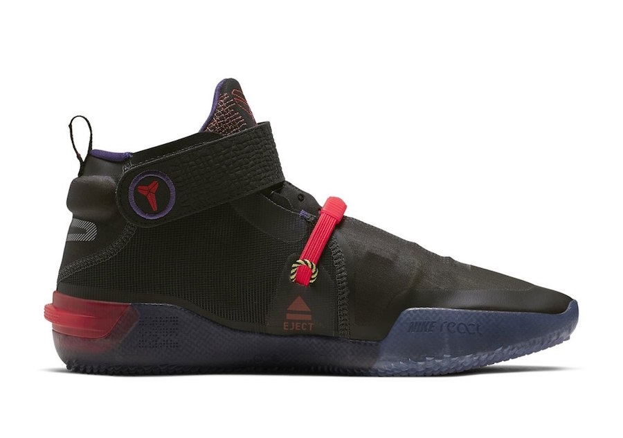 Nike Kobe AD NXT FastFit Black Red Release Date Info