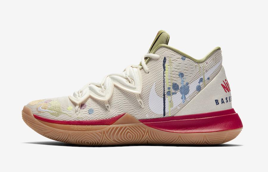 Nike Kyrie 5 Bandulu CK5836-100 Release Date