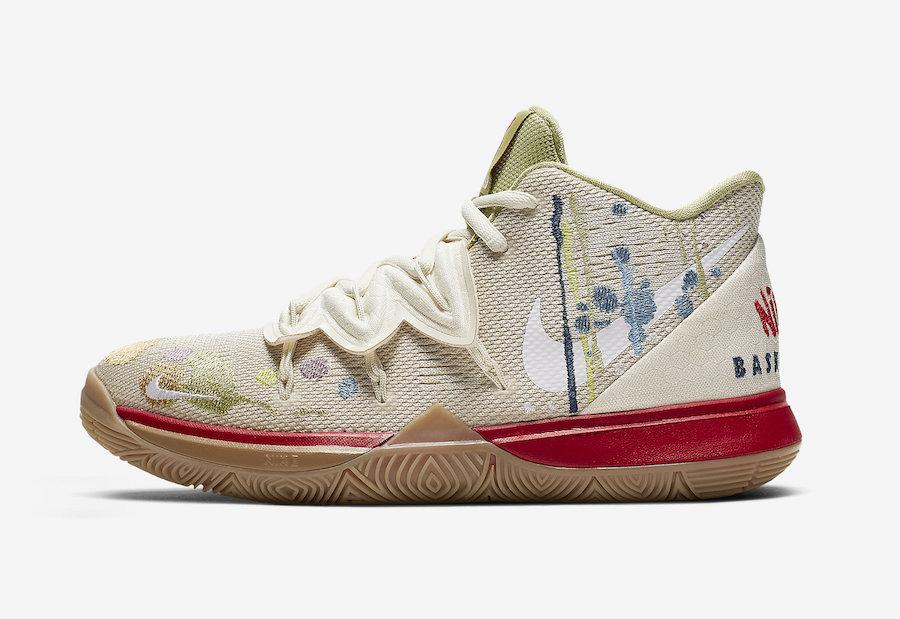 Nike Kyrie 5 Bandulu Kids CQ4326-100 Release Date
