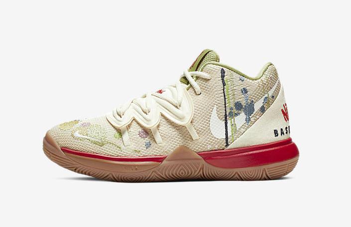 Nike Kyrie 5 Bandulu Little Kids CQ9341-100 Release Date