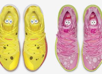 Nike Kyrie 5 SpongeBob Patrick Star Release Date