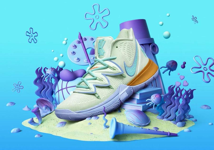 Nike Kyrie 5 Squidward CJ6951-300 Release Date Info