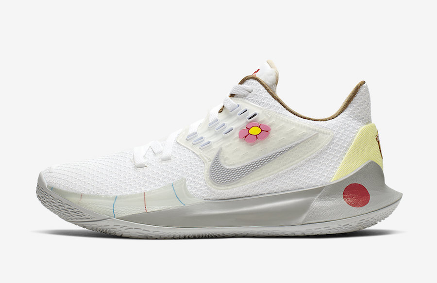 Nike Kyrie Low 2 Sandy Cheeks CJ6953-100 Release Date Info