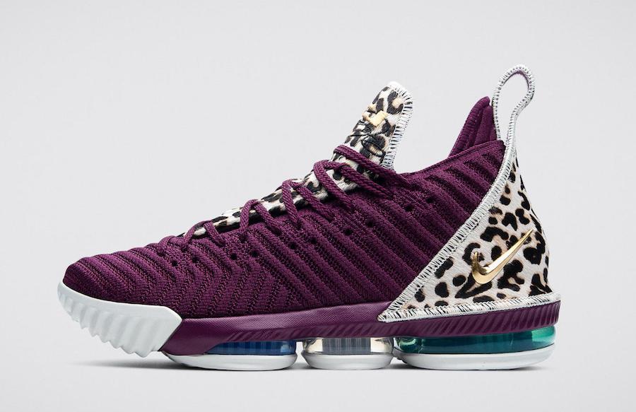 Nike LeBron 16 Diana Taurasi Phoenix Mercury PE