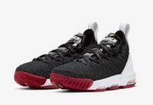 Nike LeBron 16 GS Bred AQ2465-016 Release Date Info