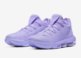 Nike LeBron 16 Low Purple CI2668-500 Release Date Info