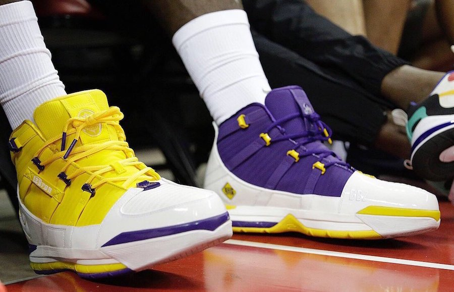 Nike LeBron 3 Lakers Release Date Info