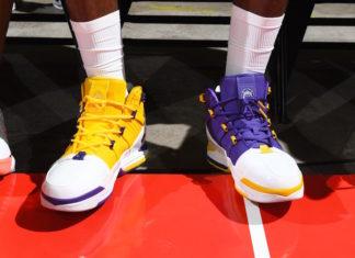 Nike LeBron 3 Lakers Release Date Info