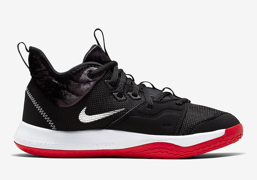 Nike PG 3 GS Velour AQ2462-016 Release Date Info