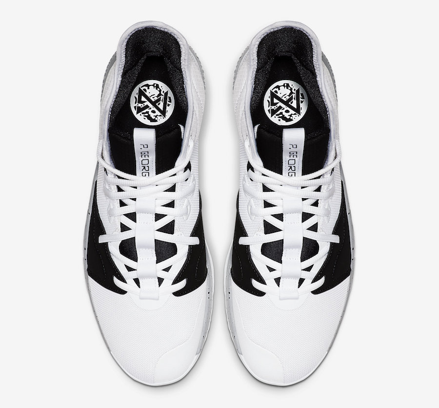 Nike PG 3 Moon White Black AO2607-101 Release Date Info