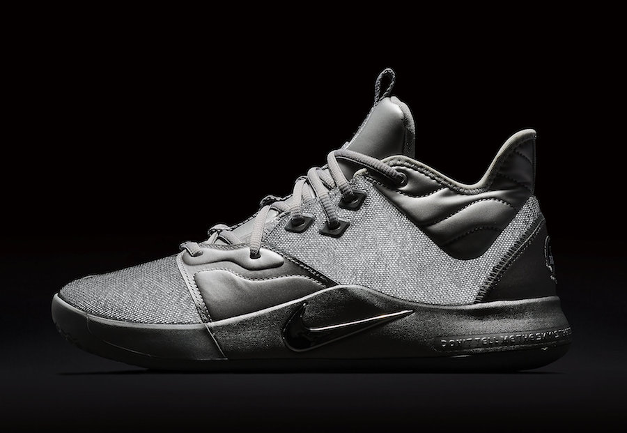 Nike PG 3 NASA Silver Reflective CI2667-001 Release Date Info