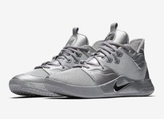 Nike PG 3 NASA Silver Reflective CI2667-001 Release Date Info