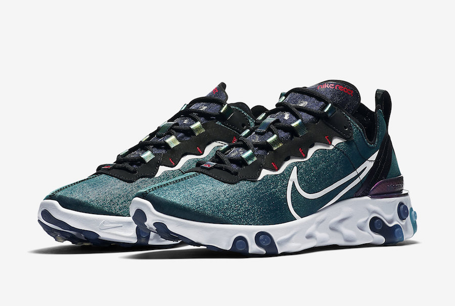 Nike React Element 55 Magpie CN5797-011 CN5798-101 Release Date Info | SneakerFiles