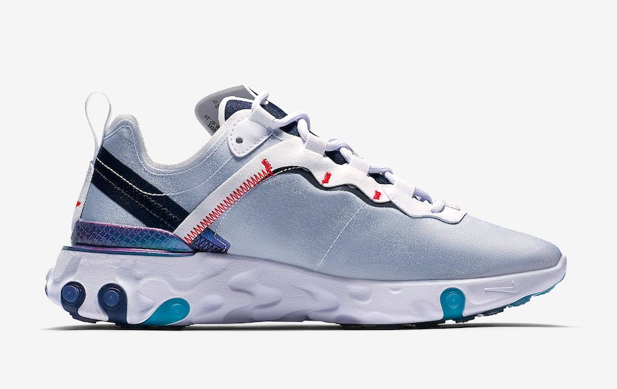 Nike React Element 55 Magpie CN5798-101 Release Date Info