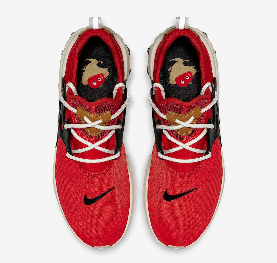 Nike React Presto Tomato Tornado Av2605 600 Release Date