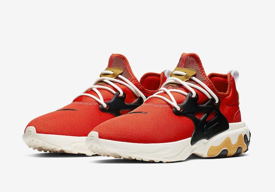 Nike React Presto Tomato Tornado AV2605-600 Release Date Info