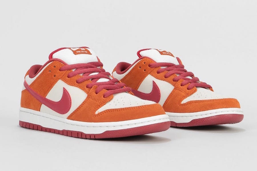 Nike SB Dunk Low Dark Russet Cedar Summit White Release Date Info