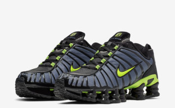 Nike Shox TL Thunder Storm Volt CI7692-400 Release Date Info
