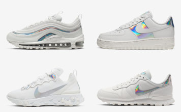 Nike White Iridescent Pack Release Date Info