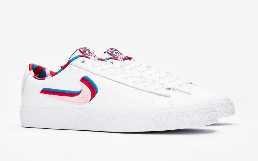 Parra Nike SB Blazer Low GT CN4507-100 Release Date