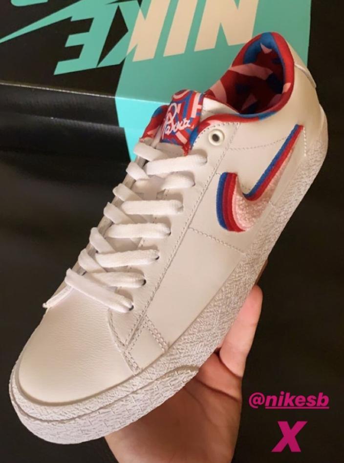 Parra Nike SB Blazer Low GT Release date Info