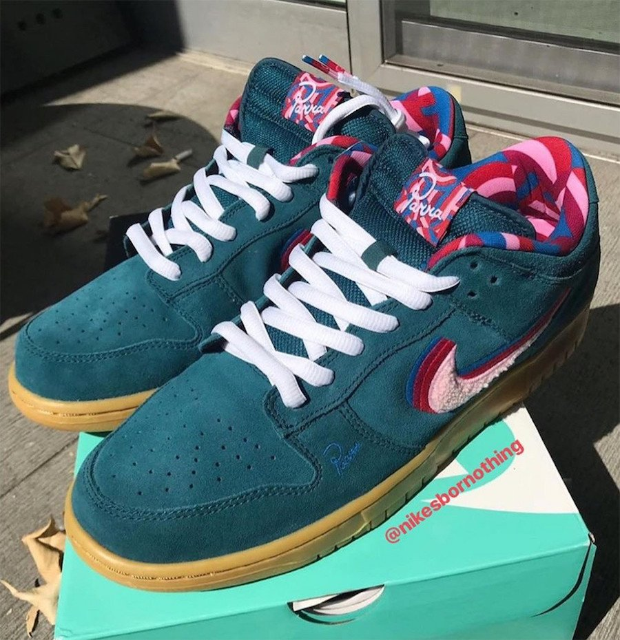 Parra Nike SB Dunk Low Friends and Family CN4504-300 Release Info