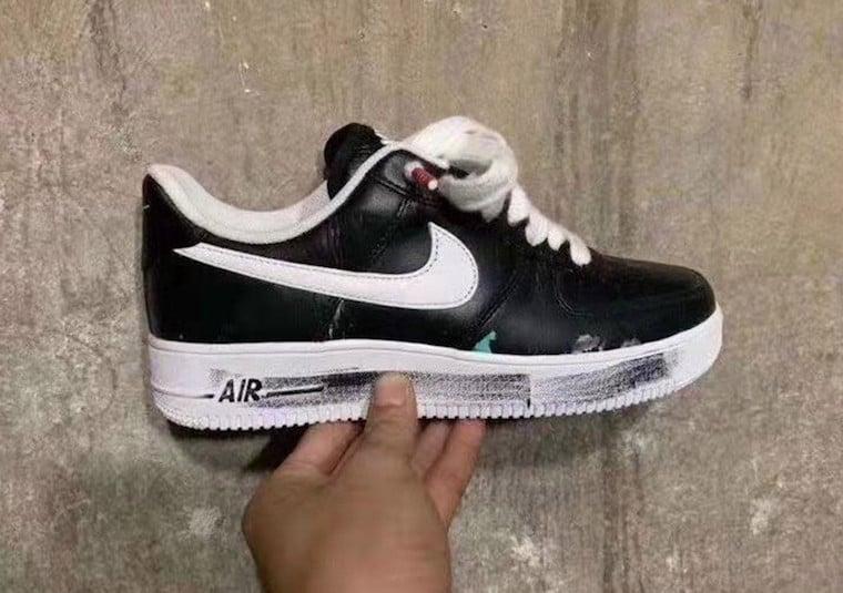 PEACEMINUSONE Nike Air Force 1 Black White Release Date Info