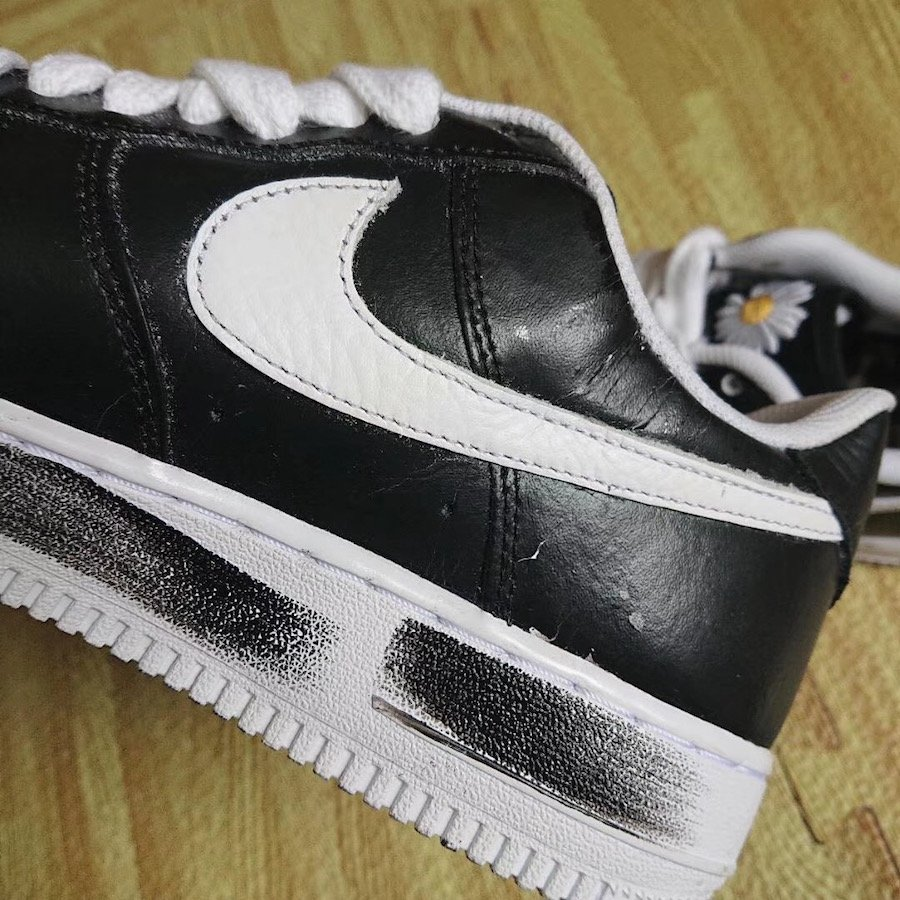 PEACEMINUSONE Nike Air Force 1 Low Black White Release Date