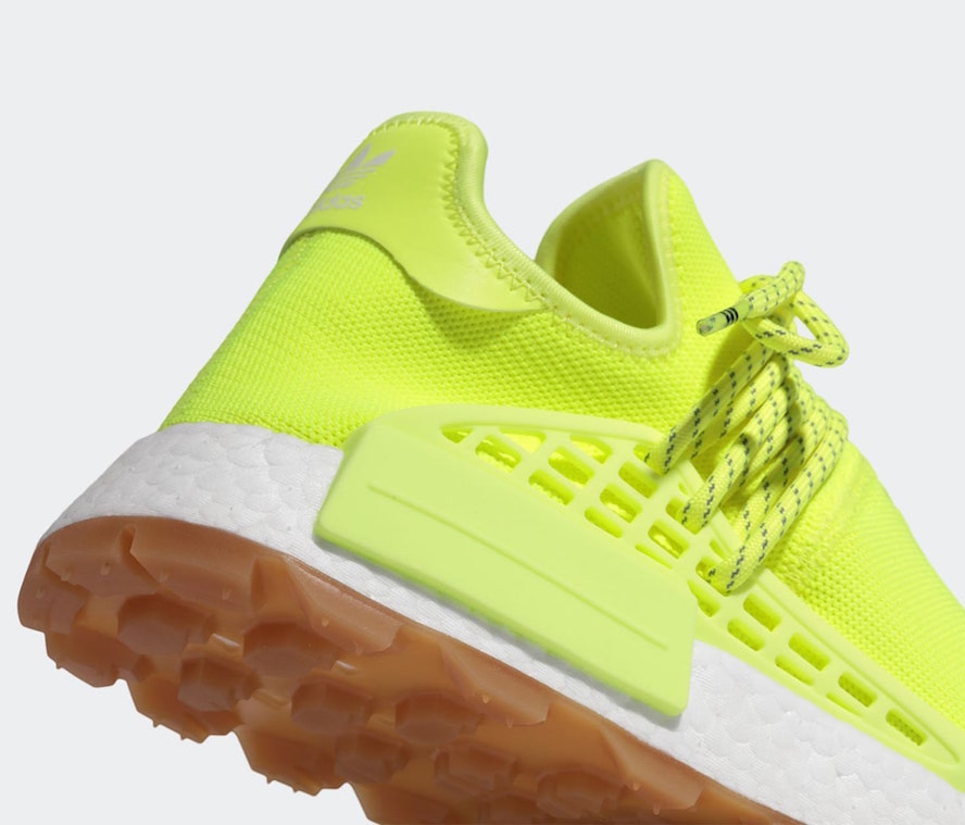 Pharrell adidas NMD Hu Trail Solar Yellow Know Soul EF2335 Release Date Info