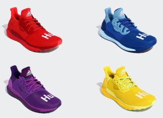 Pharrell adidas Solar Hu Glide Rainbow Release Date