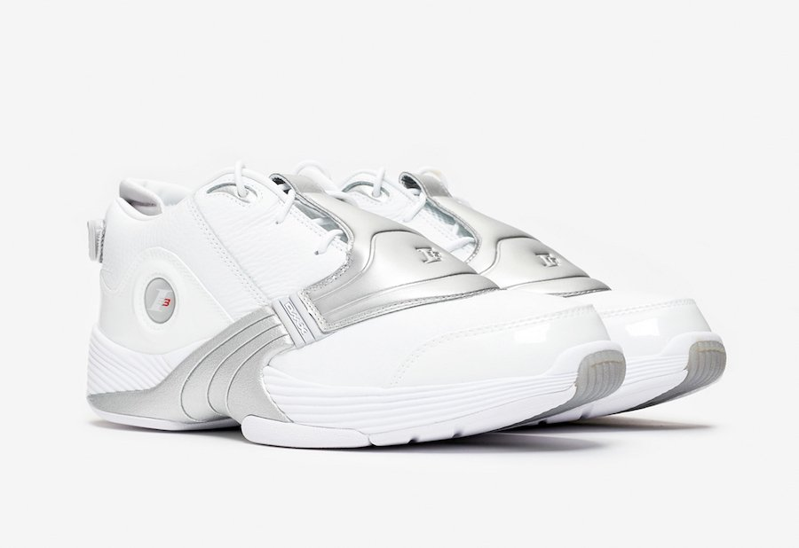 Reebok Answer 5 Releasing in White and Matte Silver Welcome