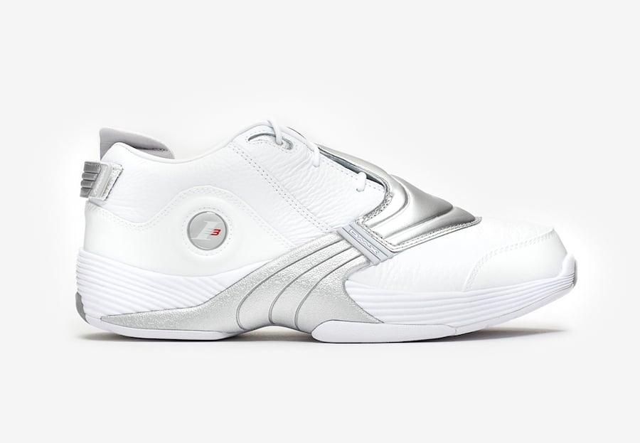 Reebok Answer V 5 White Matte Silver DV6959 Release Date Info