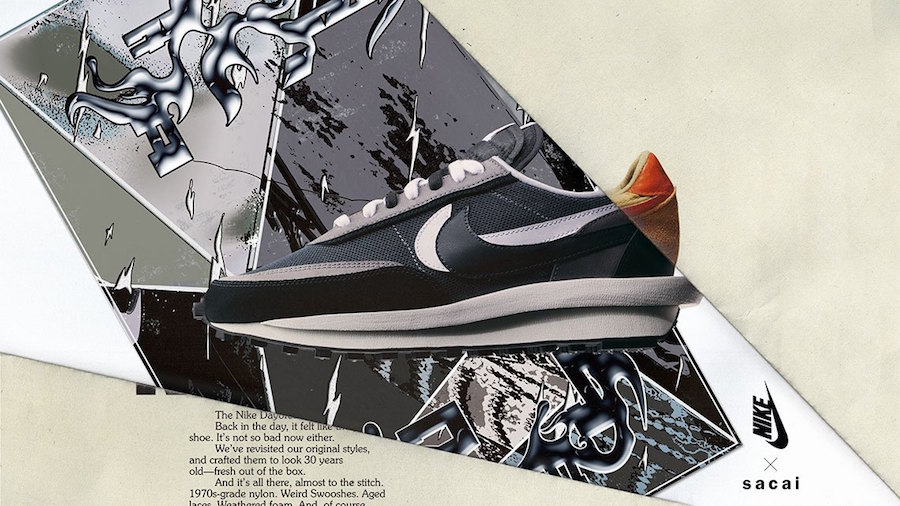 sacai Nike LDWaffle BV0073-001 Release Date Info