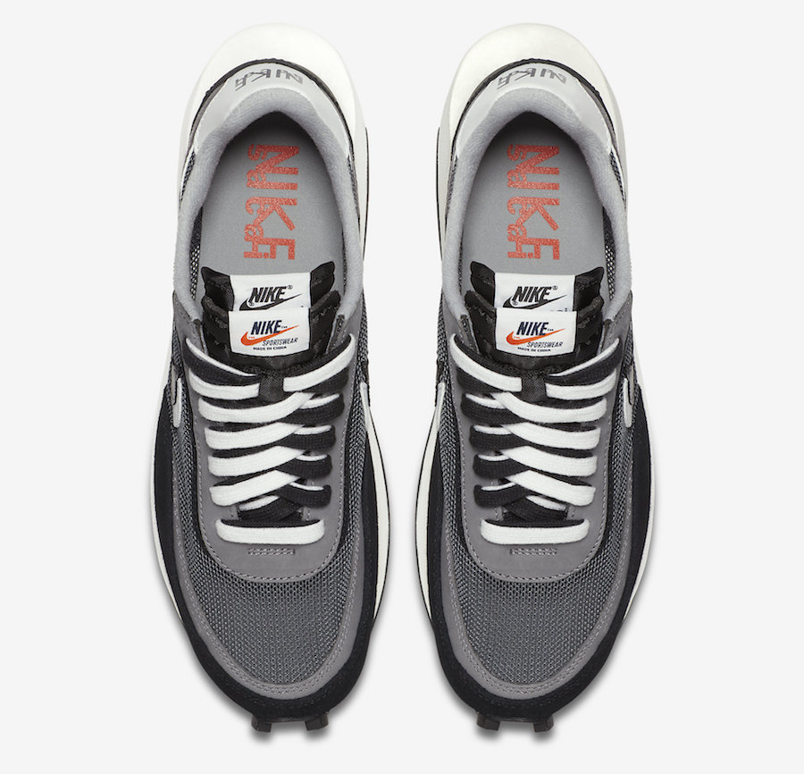 sacai Nike LDWaffle Black White BV0073-001 Release Date Info