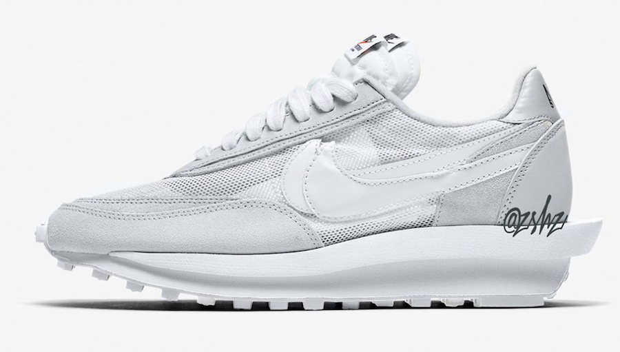 Sacai Nike LDWaffle White BV0073-101 Release Date Info