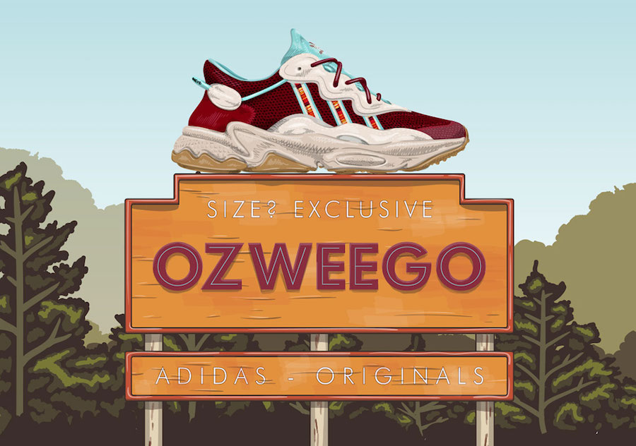 size? adidas Ozweego Release Date Info