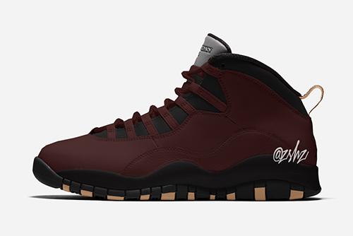 SoleFly Air Jordan 10 Velvet Brown Release Date