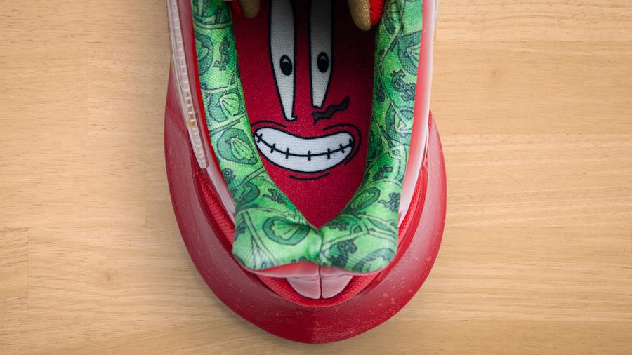 SpongeBob SquarePants Nike Kyrie Low 2 Mr. Krabs