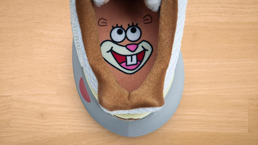 SpongeBob SquarePants Nike Kyrie Low 2 Sandy Hook