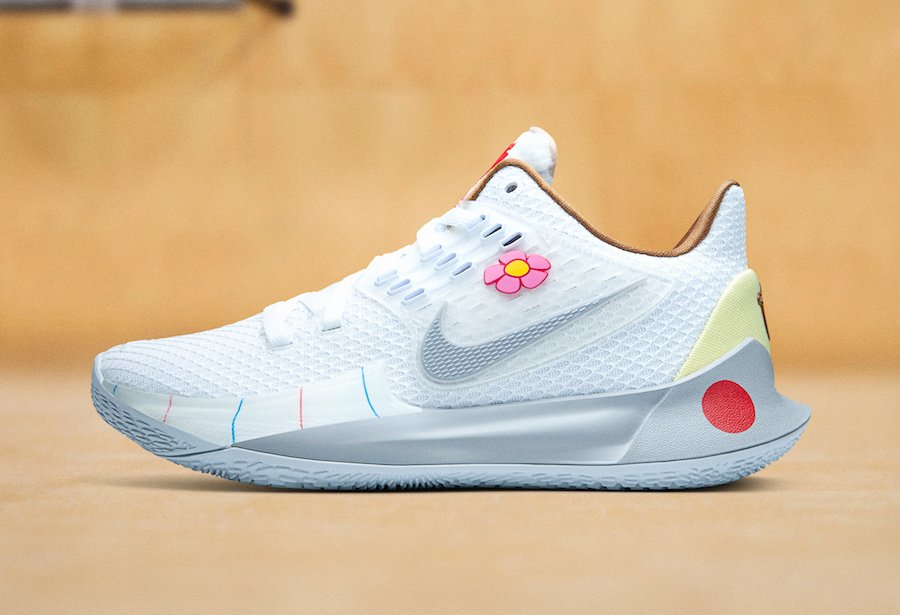 SpongeBob SquarePants Nike Kyrie Low 2 Sandy Hook