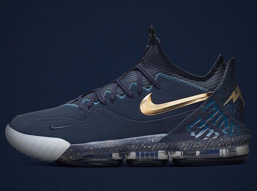 Titan Nike LeBron 16 Low Agimat Release Date