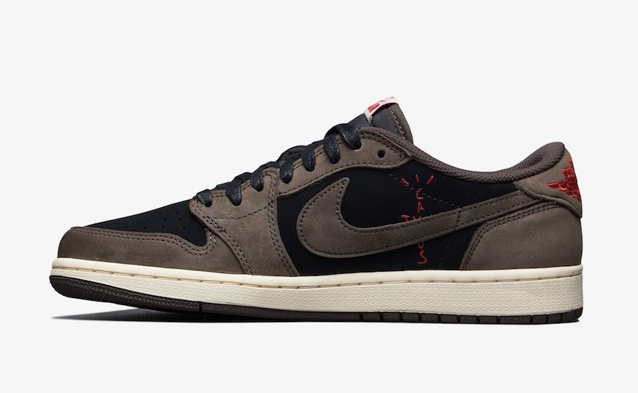 Travis Scott Air Jordan 1 Low CQ4277-001 Release Date