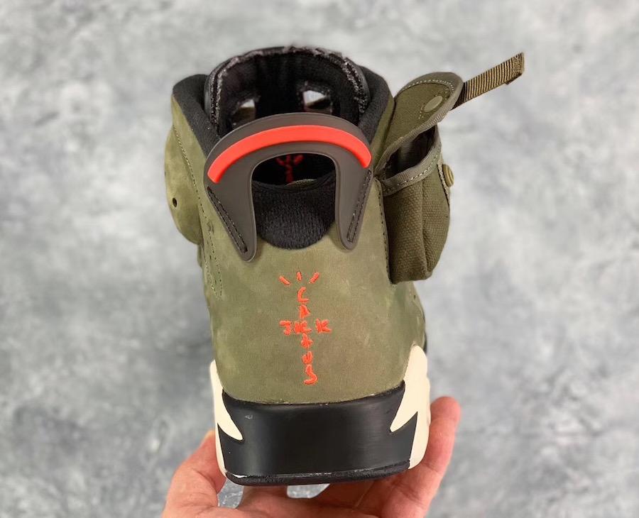 Travis Scott Air Jordan 6 Release Info CN1084-200