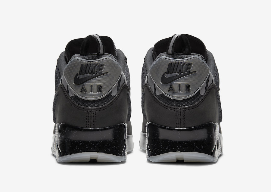 Undefeated Nike Air Max 90 Black CQ2289-002 Release Date